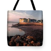 Waterside At Exmouth Tote Bag