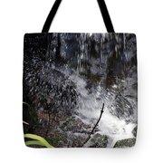 Watersplash In Sunlight Tote Bag