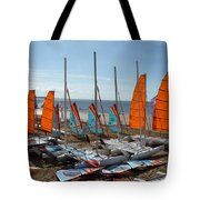 Watersports In La Baule Tote Bag