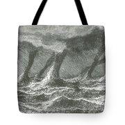 Waterspouts Tote Bag