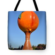 Watery Peach Tote Bag