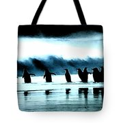 Wating For Take Off Tote Bag