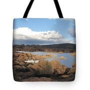 Watson Lake 2 Tote Bag