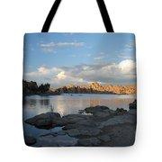 Watson Lake 5  Tote Bag