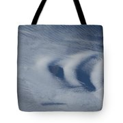 Wave Clouds Near Ile Aux Cochons Tote Bag