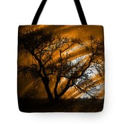 Wave Of The Hand Tote Bag