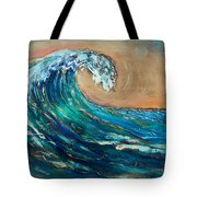 Wave To The South Tote Bag