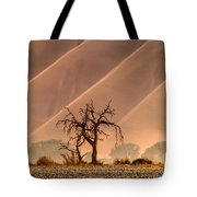 Wave Tree Tote Bag