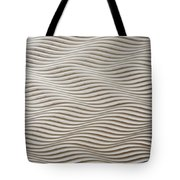 Waves And Stripes Background Tote Bag
