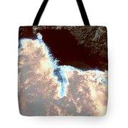 Waves At Arch Rock Tote Bag