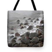 Waves Hitting The Shore Tote Bag