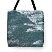 Waves In The Sky Tote Bag