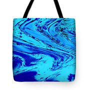 Waves Of Abstraction Tote Bag