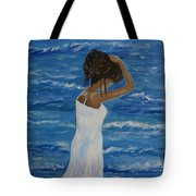 Waves Of Beauty Tote Bag