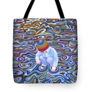 Waves Of Dream Tote Bag