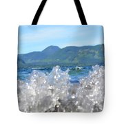 Waves Of Joy Tote Bag