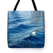 Waves On Tahoe Tote Bag