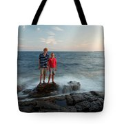 Waves Splash Children Tote Bag