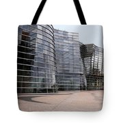 Wavey Building Tote Bag