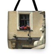 Wawel Flower Box And Achitecture Tote Bag