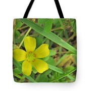 Way Down In The Grass Tote Bag