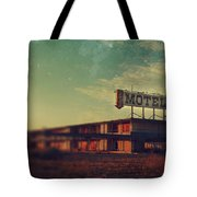 We Met At The Old Motel Tote Bag by Laurie Search
