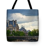 Weather In Paris Tote Bag