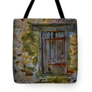 Weathered Vibrancy Tote Bag