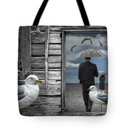 Weathering The Gulls Tote Bag