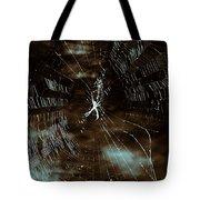 Web Glitter Tote Bag