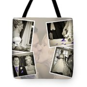 Wedding Album Page - Fine Art Tote Bag