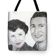 Wedding Day 1954 Tote Bag