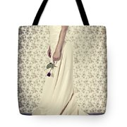 Wedding Dress Tote Bag by Joana Kruse