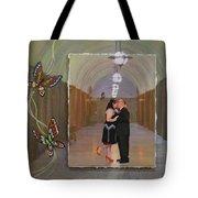 Wedding Portrait Tote Bag