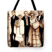 Wedding Sepia Tote Bag