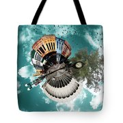 Wee Downtown Bryan Tote Bag by Nikki Marie Smith