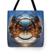 Wee Lake Vuoksa Twin Islands Tote Bag