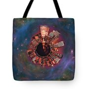 Wee Manhattan Planet Tote Bag