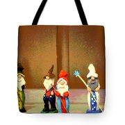 Wee Wooden People Tote Bag