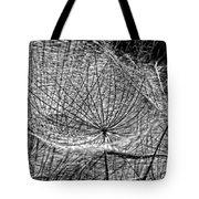 Weed Wandering Monochrome Tote Bag