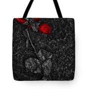 Weep Of A Rose  Tote Bag