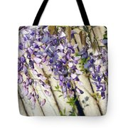Weeping Wisteria Tote Bag