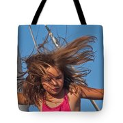 Weightless Hair Tote Bag