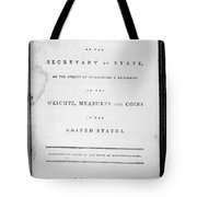 Weights, Measures & Coins Tote Bag