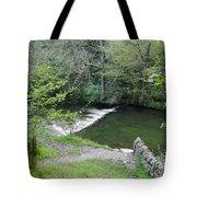 Weir Below Lover's Leap - Dovedale Tote Bag