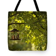 Welcome Feather Friends Tote Bag