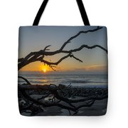 Welcome The Day Tote Bag