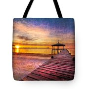 Welcome The Morning Tote Bag