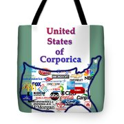 Welcome To Corporica Tote Bag