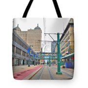 Welcome To Dt Buffalo Tote Bag